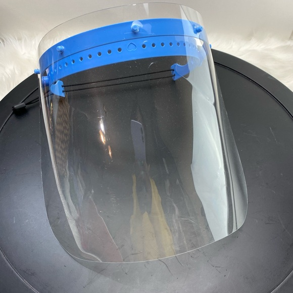 5 Safety face shields new
